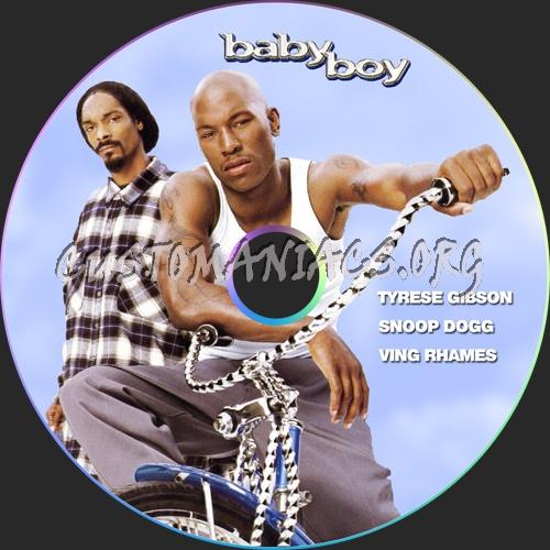 Baby Boy dvd label