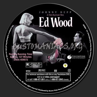 Ed Wood dvd label
