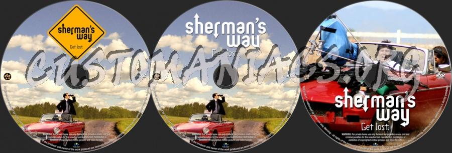 Sherman's Way dvd label