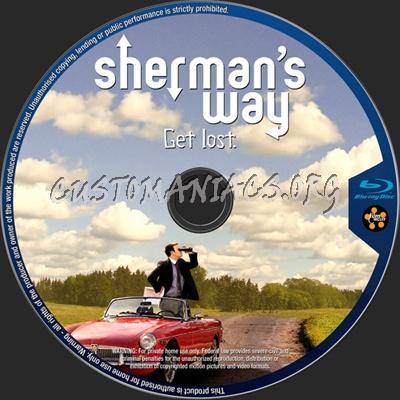Sherman's Way blu-ray label