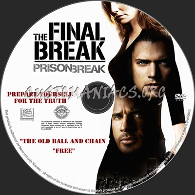Prison Break The Final Break Dvd Label Dvd Covers Labels By Customaniacs Id 66171 Free Download Highres Dvd Label