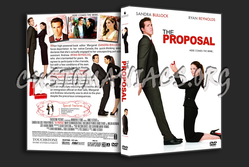 The Proposal Dvd Cover Dvd Covers Labels By Customaniacs Id