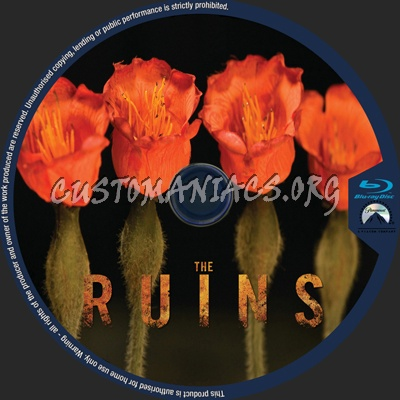 The Ruins blu-ray label