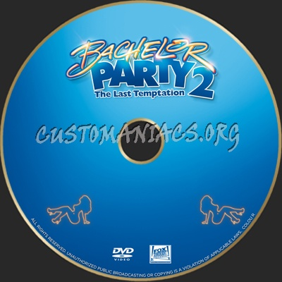 Bachelor Party dvd label