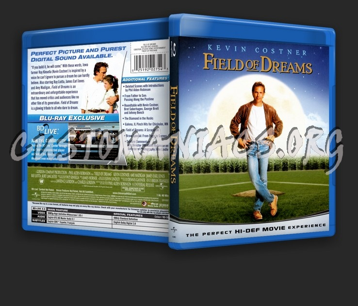 Field Of Dreams blu-ray cover