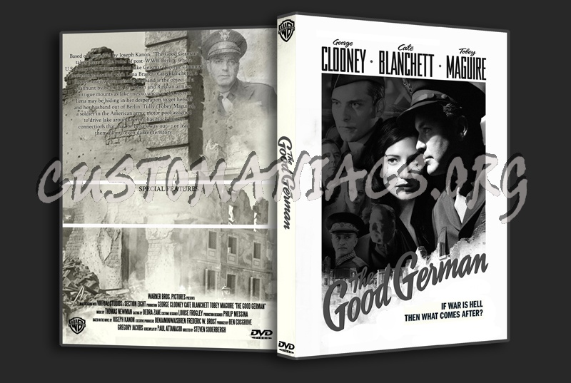 The Good German dvd cover