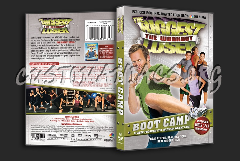 the biggest loser boot camp dvd cover dvd covers labels by customaniacs id 66412 free. Black Bedroom Furniture Sets. Home Design Ideas