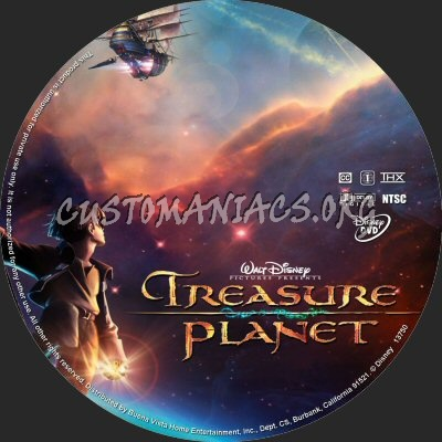 treasure planet dvd - 850×850