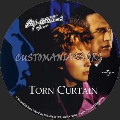 Torn Curtain dvd label