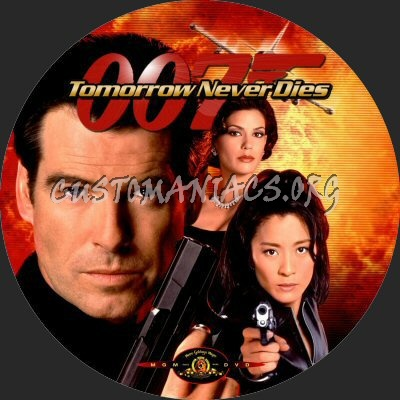 Tomorrow Never Dies dvd label