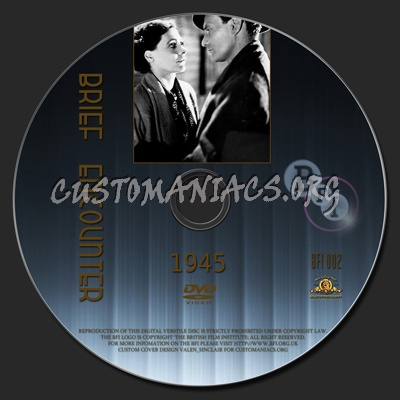 Brief Encounter - The BFI Collection dvd label