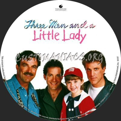 Three Men and a Little Lady dvd label