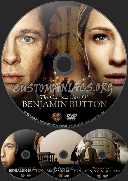 The Curious Case of Benjamin Button dvd label