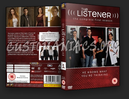 The Listener Season 1 dvd cover