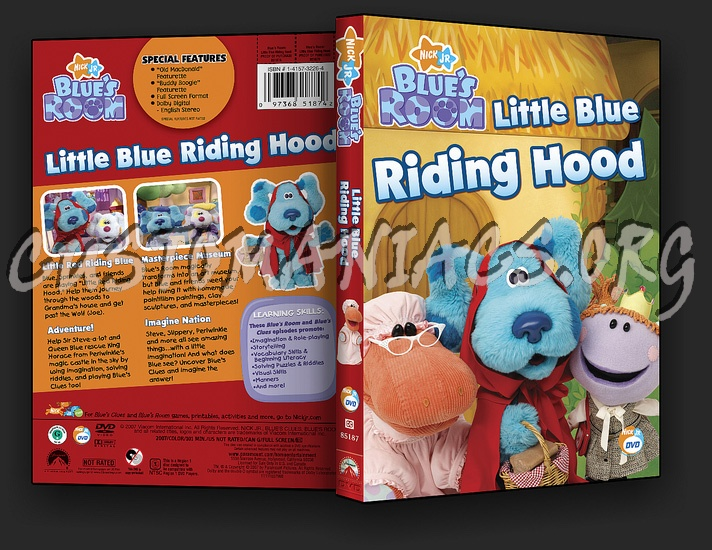 Blues Room Little Blue Riding Hood