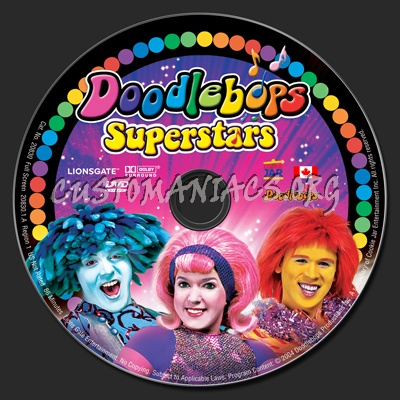 Doodlebops Superstars dvd label