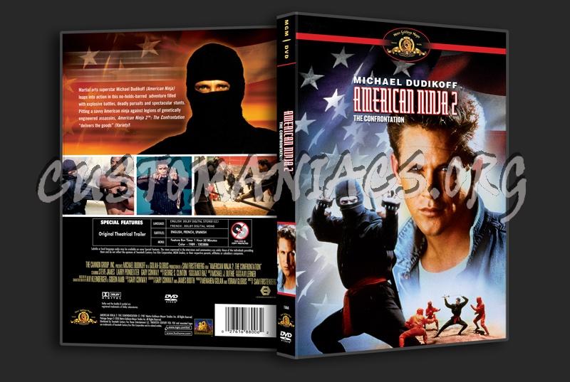 American Ninja 2 dvd cover