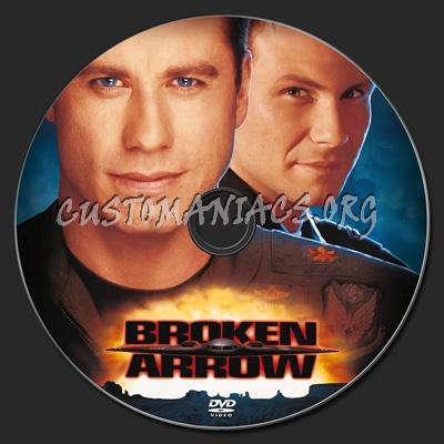 Broken Arrow dvd label