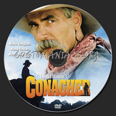 Conagher dvd label