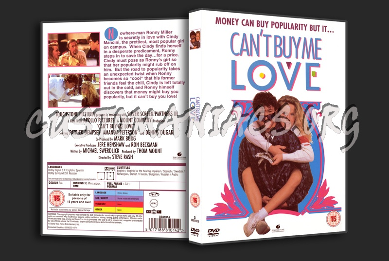 Can't Buy Me Love dvd cover