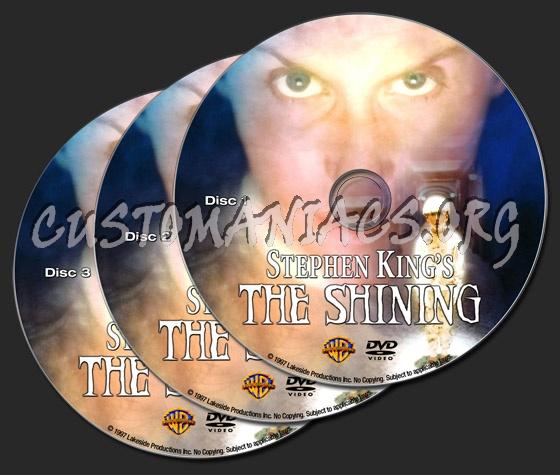 The Shining dvd label
