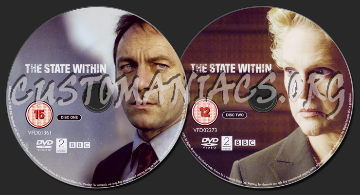 The State Within dvd label