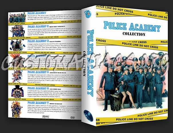 Police Academy Collection dvd cover