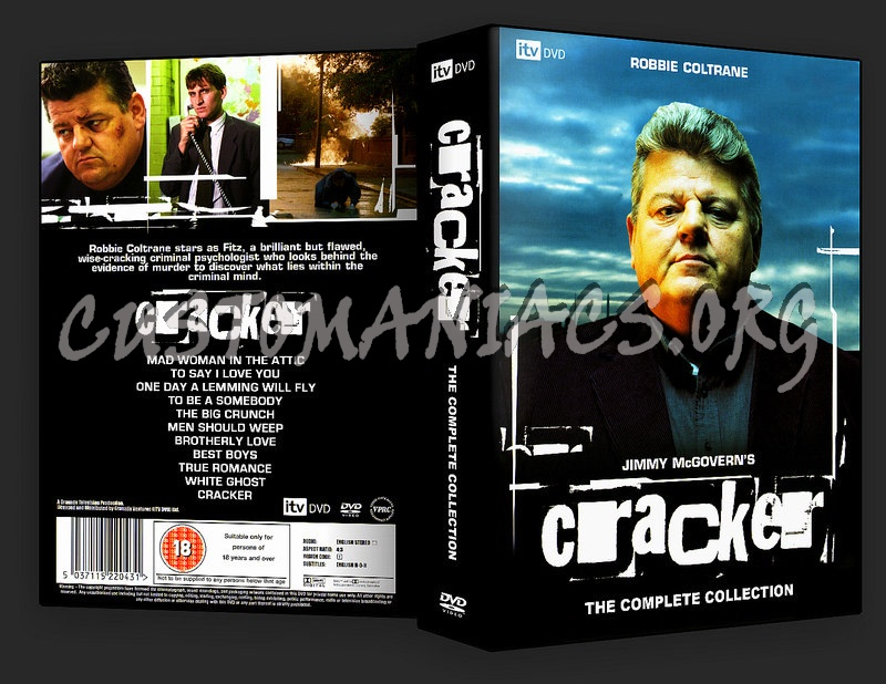 Cracker Complete Collection dvd cover