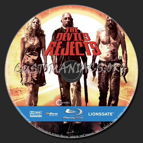 The Devil's Rejects blu-ray label