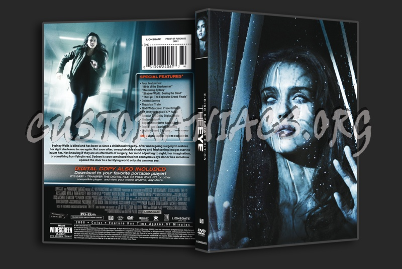 The Eye 2-disc SE dvd cover