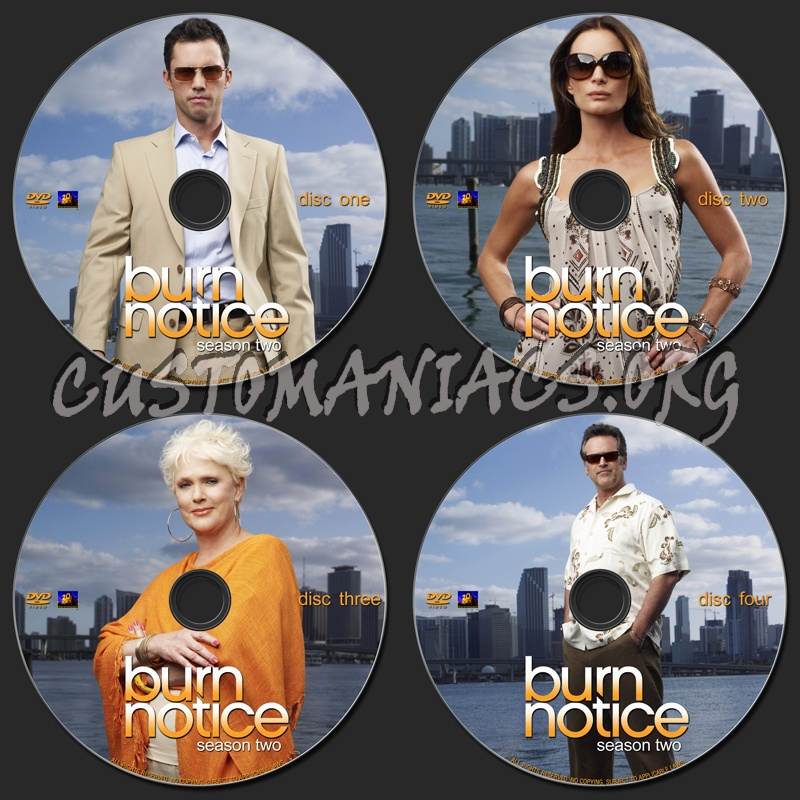 Burn Notice : Season Two dvd label