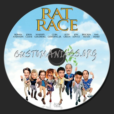 Rat Race dvd label