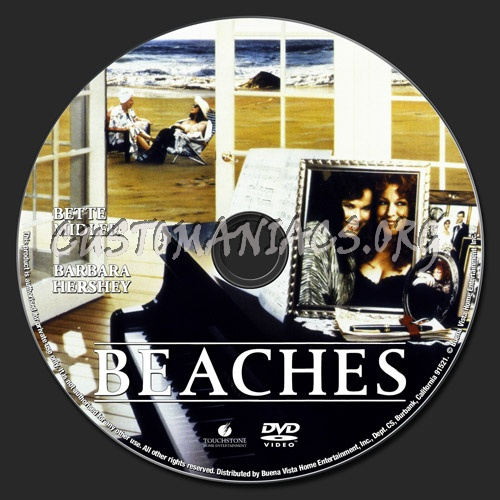 Beaches dvd label
