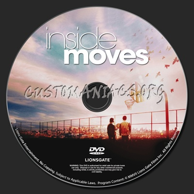Inside moves dvd label dvd covers labels by for Inside 2007 dvd