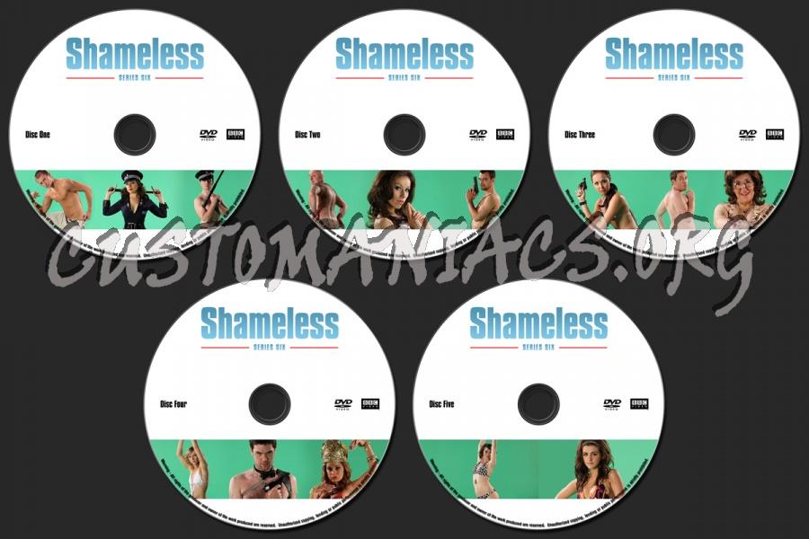 Shameless : Series 6 dvd label