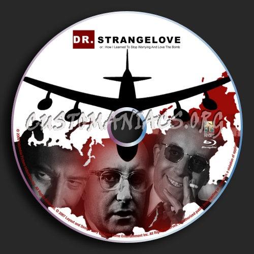 Dr Strangelove Blu-ray Label