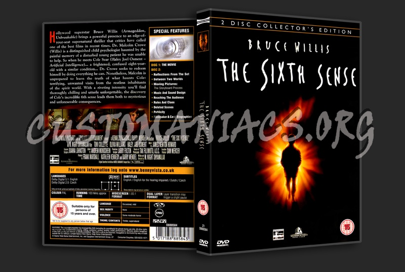The Sixth Sense dvd cover