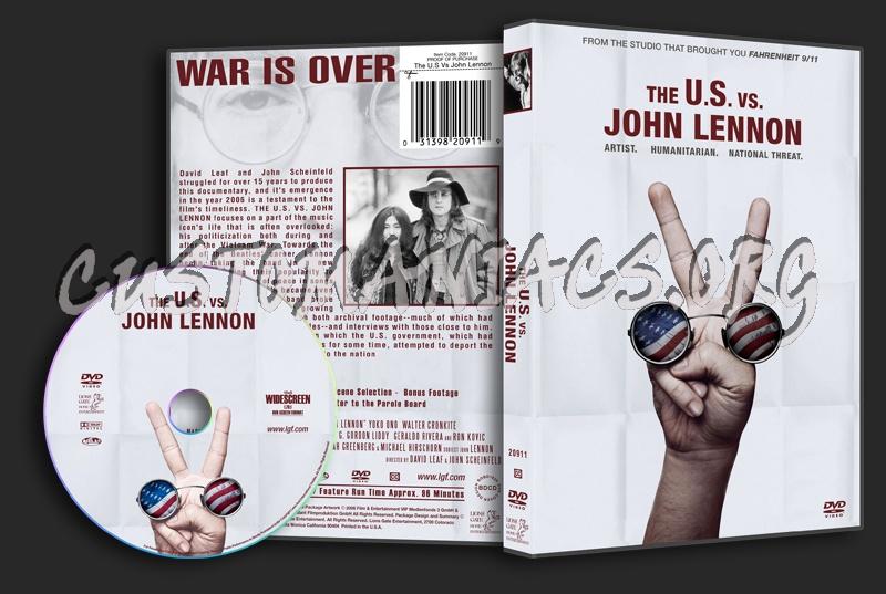 The U.S. vs. John Lennon dvd cover