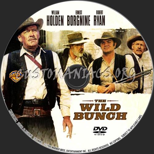 The Wild Bunch dvd label