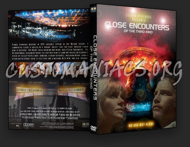 Close Encounters Of The Third Kind Dvd Cover - DVD Covers ...