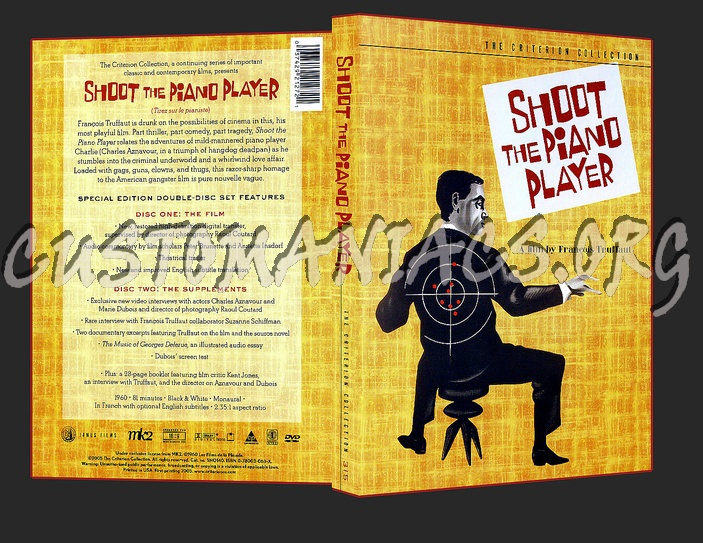 315 - Shoot the Piano Player dvd cover