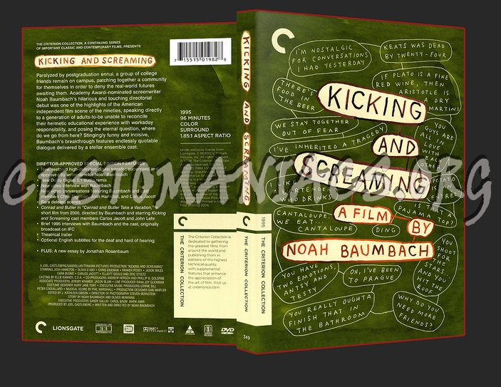 349 - Kicking and Screaming dvd cover