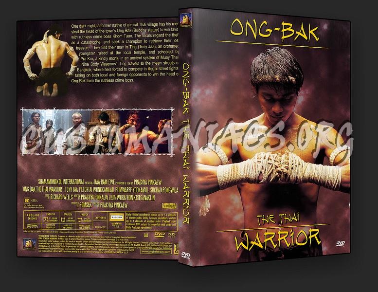 Ong-Bak dvd cover