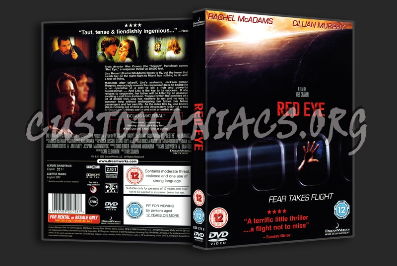 Red Eye dvd cover