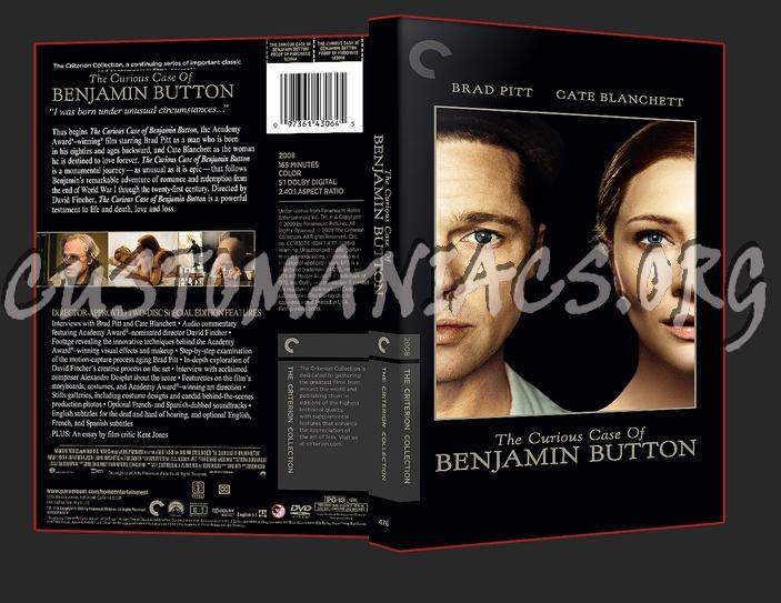 476 - The Curious Case of Benjamin Button dvd cover