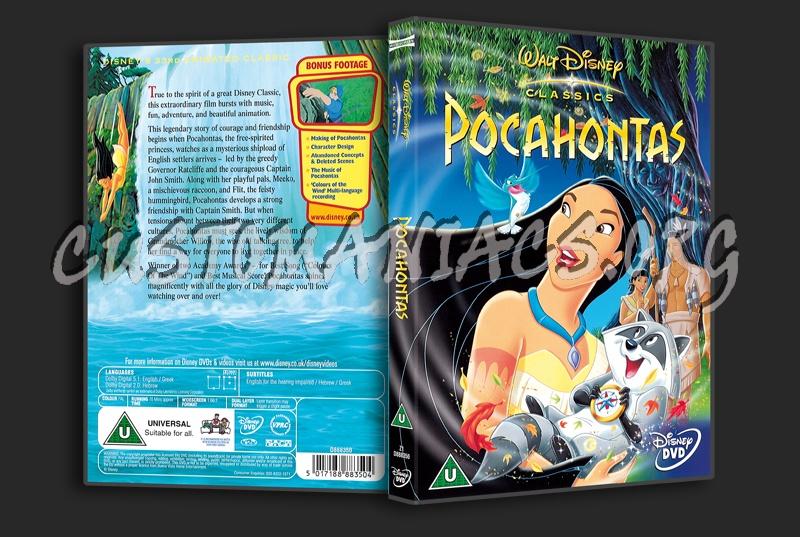 Pocahontas dvd cover