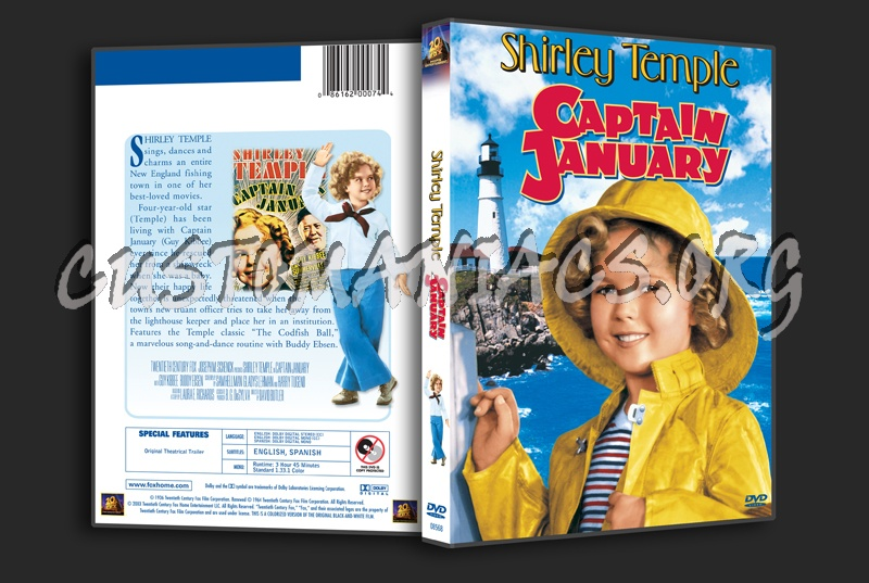 Captain January dvd cover