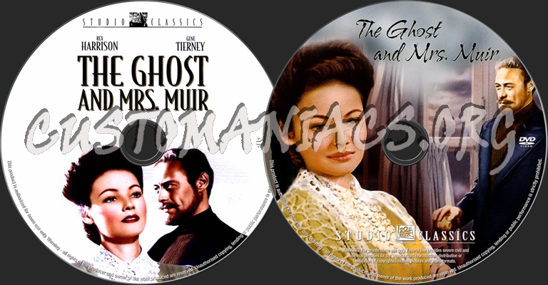 The Ghost & Mrs Muir dvd label