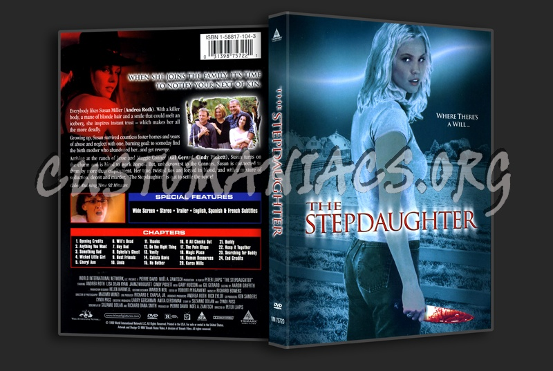 The Stepdaughter dvd cover