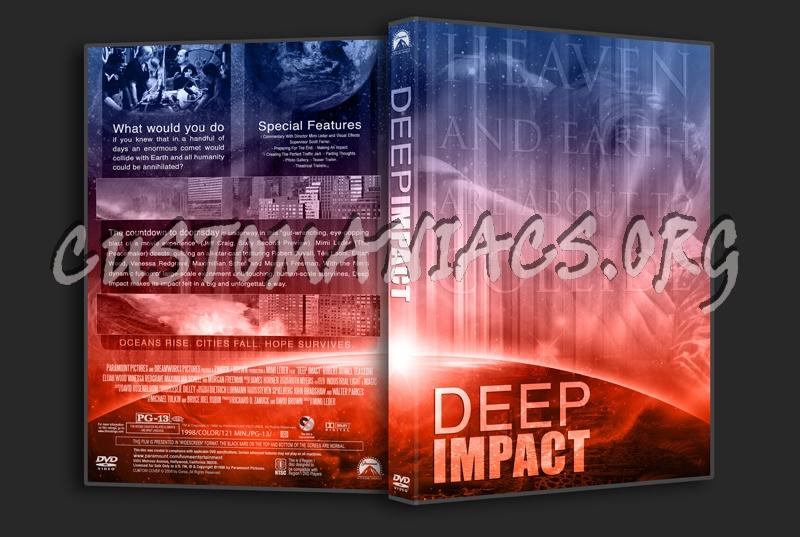 Deep Impact dvd cover